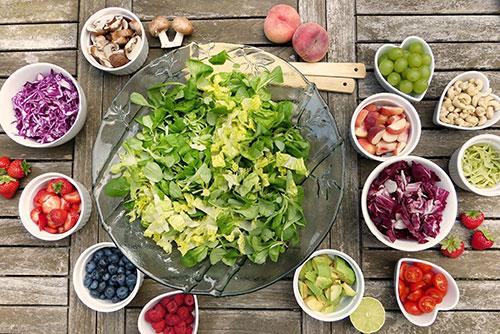 جدول حمية غذائية متوازنة الدهنيات وقليلة الكوليسترول