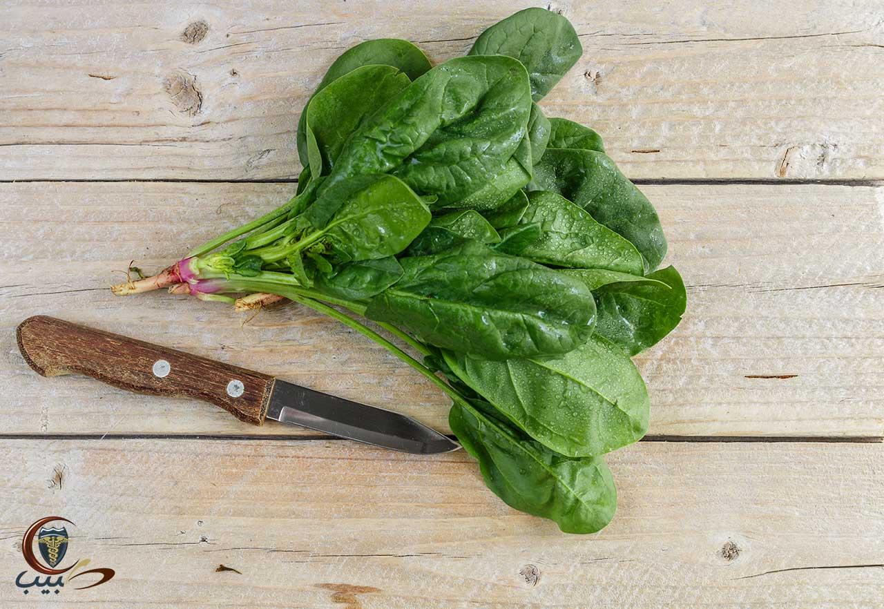 فوائد السبانخ الطبية Spinach