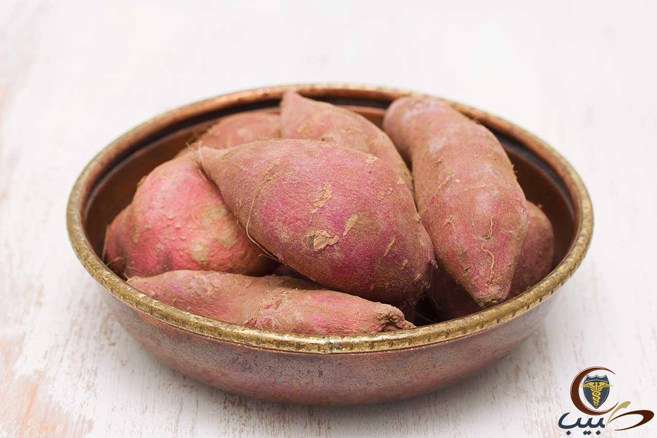 البطاطا الحلوة Sweet potato