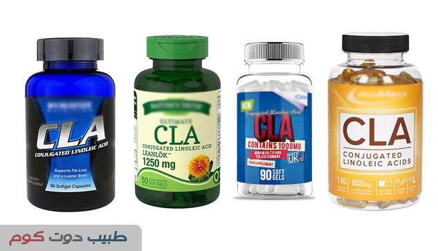 حمض اللينوليك المقترن لحرق الدهون Conjugated linoleic acid CLA