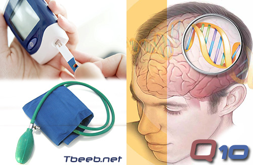 فوائد الانزيم المساعد Q10  في ارتفاع ضغط الدم، السكتة، والسكري