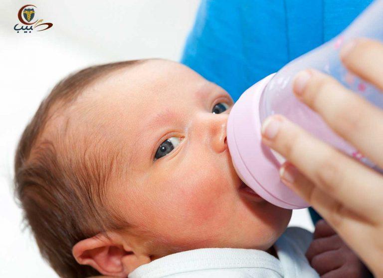 الرضاعة من الزجاجة أو القارورة