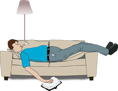 هل الشخير أثناء النوم خطير