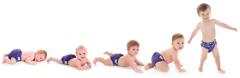 تطور النمو الجسماني للطفل الرضيع