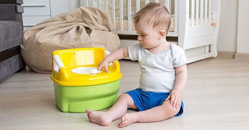 تدريب الطفل على استخدام المرحاض