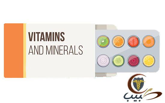 العلاج بالفيتامينات والمعادن Vitamin and Mineral Therapy