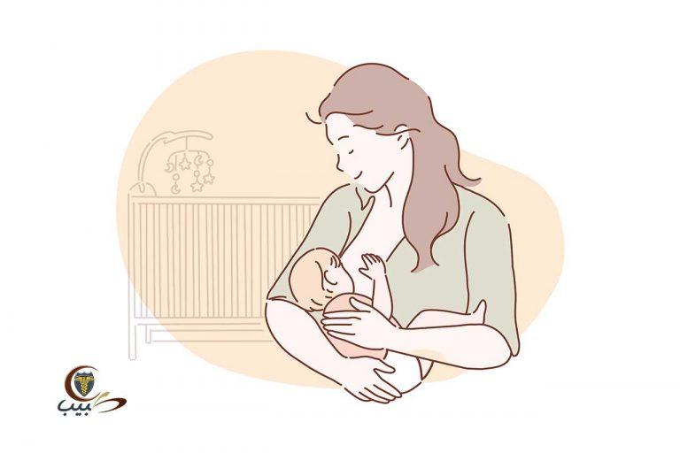 برنامج الرضاعة من حليب الأم في الشهور الستة الأولى