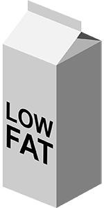 خرافة   تناول الأطعمة المنخفضة أو المنزوعة الدسم أفضل لصحة الجسم!