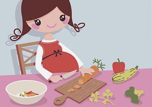 النظام الغذائي الصحي للحامل والجنين مع جدول الحصص الغذائية اليومية
