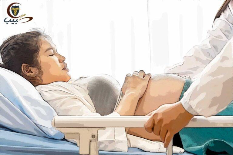 انقلاب الرحم بعد الولادة