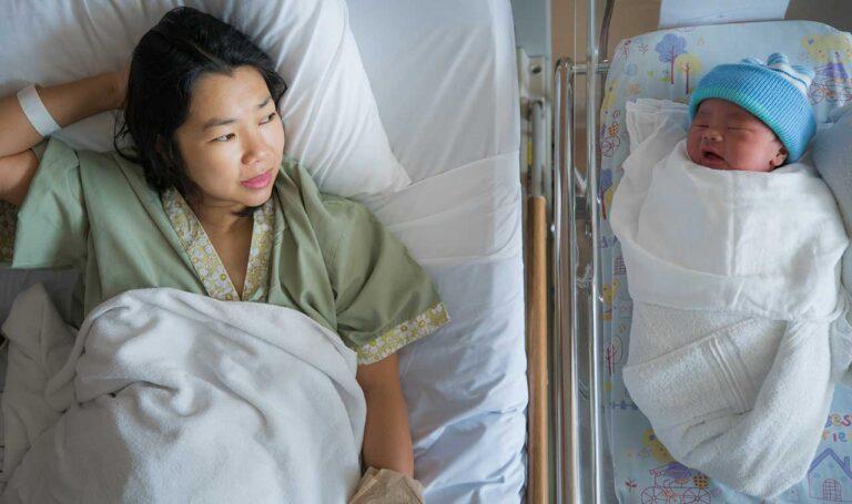 توسع المهبل بعد الولادة