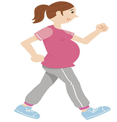 ممارسة التمارين الرياضة للحامل
