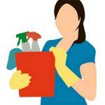 منتجات التنظيف المنزلية أثناء الحمل