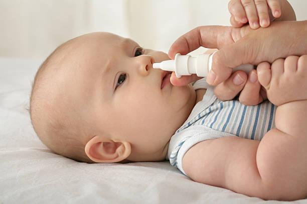 نزلة البرد لدى الأطفال الرضع