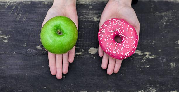 الفرق بين الطعام الصحي والطعام غير الصحي