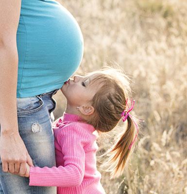 الحمل مع وجود أطفال آخرين
