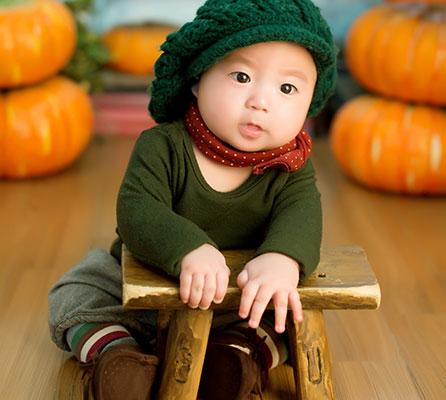 الطفل الذكي والموهوب في الشهر السابع
