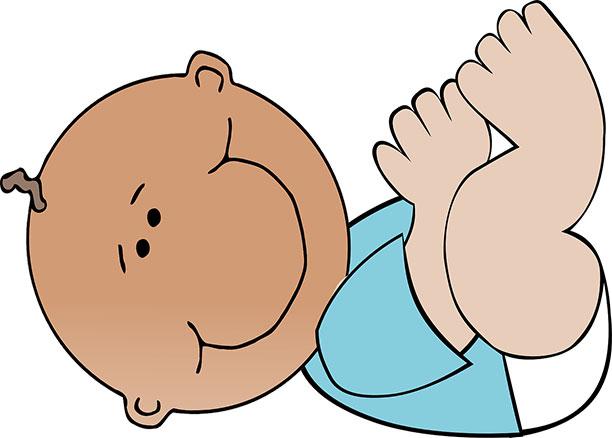تغوط أو تبرز الطفل في أول ثلاثة أشهر