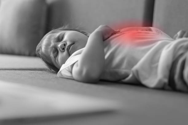 القيء والقشط والإسهال لدى الأطفال