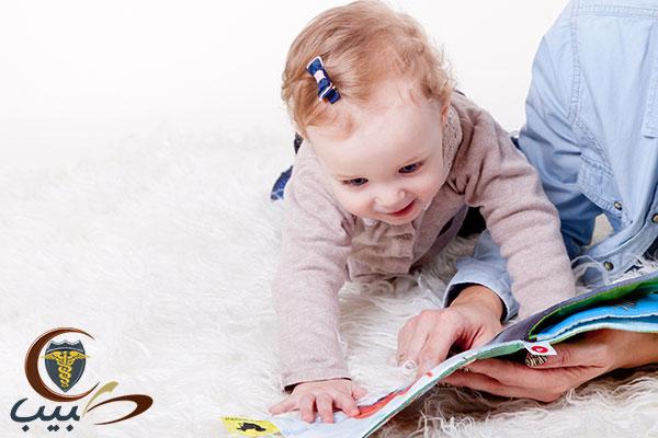 رعاية الطفل من الشهر الرابع وحتى الثاني عشر