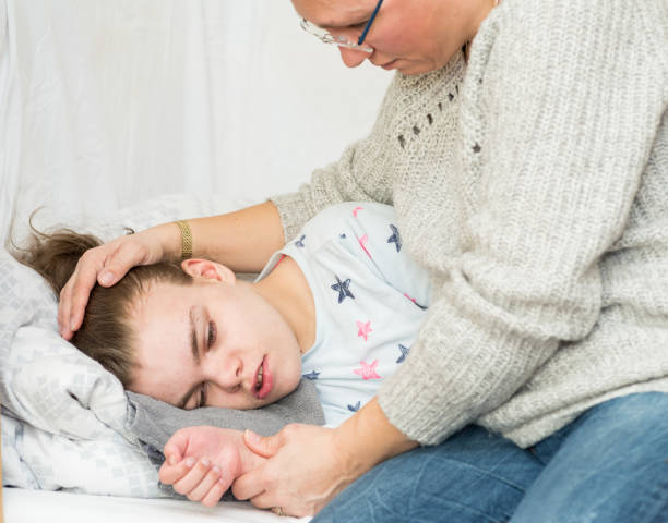 النوبات التشنجية لدى الأطفال