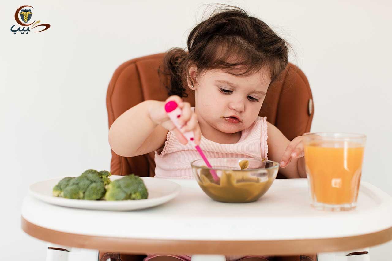 أساسيات التغذية الجيدة للطفل