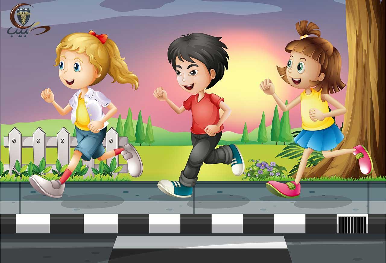 الحفاظ على أمان وسلامة الطفل في الشوارع والممرات