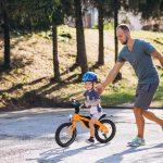 الحفاظ على سلامة وأمان الطفل من إصابات الدراجات