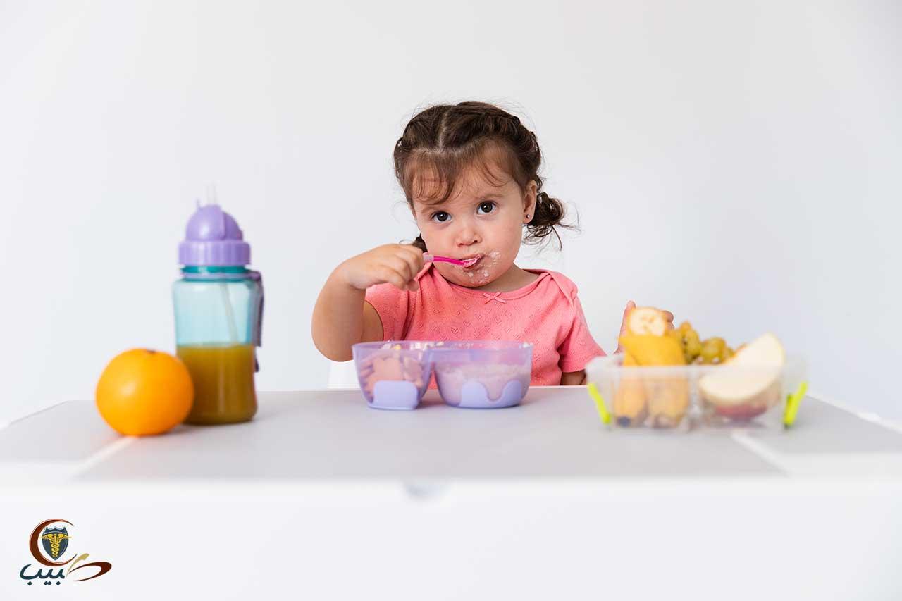 وجبات بسيطة للطفل ونصائح لتناول الطعام بسعادة