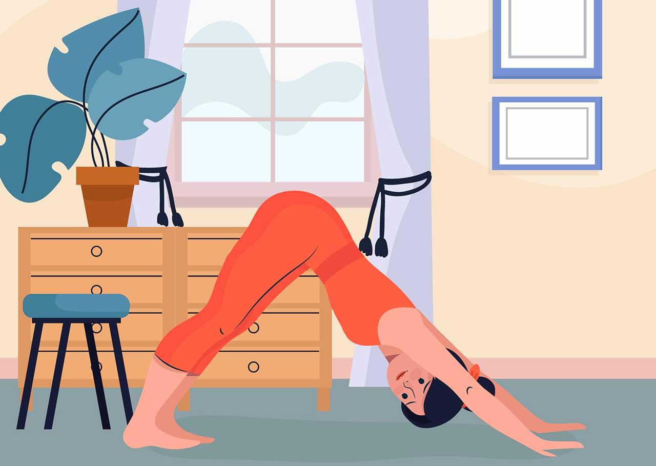 ممارسة اليوغا بأمان