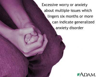 Generalized Anxiety Disorder اضطراب القلق العام