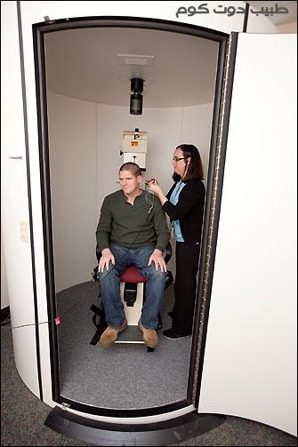 فحص كرسي الدوران Rotary chair test