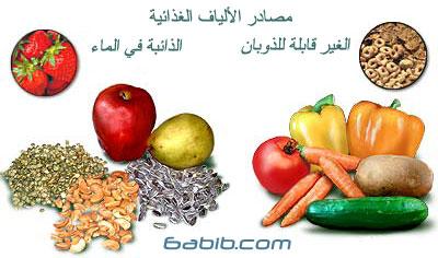 الالياف الغذائية Dietary Fiber